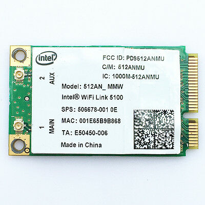 AU6.07 • Buy HP EliteBook 2530p 2730p 6930p 8530p 8730w Wireless N Dual Band WIFI WLAN Card