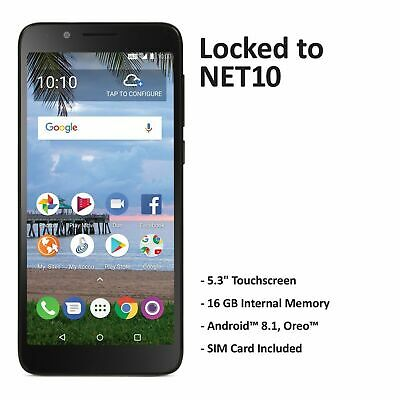 $29.99 • Buy Net10 TCL LX 4G LTE Prepaid Cell Phone