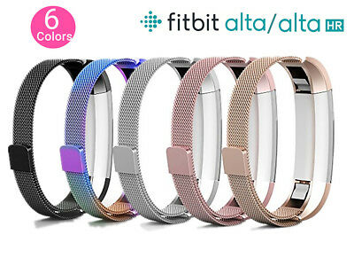 AU12.99 • Buy Magnetic Milanese Stainless Steel Watch Band Strap For Fitbit Alta / Alta HR