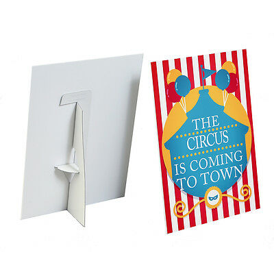 £3.99 • Buy Point Of Sales Strut Card Display Promotional Display Stand Counter Signs