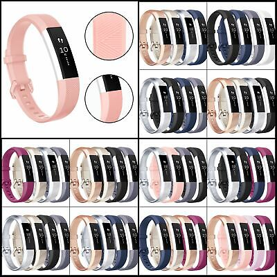 AU15.57 • Buy Fitbit Alta Bands,Soft TPU Replacement Classic Wristband For Alta HR/Ace,2,4Pack