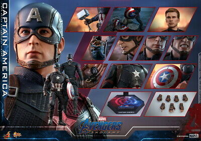 $ CDN511.25 • Buy Hot Toys 1/6th Scale Captain America MMS536 Avengers Endgame Collectible Figure