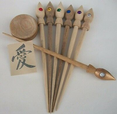 $45 • Buy Original Russian Spindle. Birch Spindle. Supported Spindle.  Gypsy Spindle.