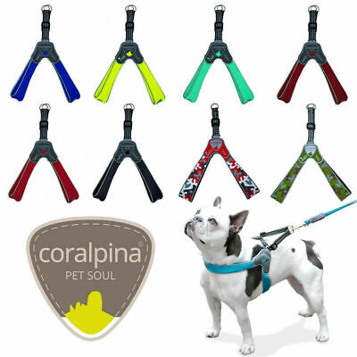 £18.39 • Buy Dog Puppy Harnesses Coralpina Soft Airmesh Harness Reflective 8 Colours 5 Sizes
