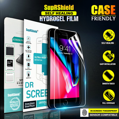 AU6.95 • Buy SupRShield IPhone 7 8 Plus X XS Max XR HYDROGEL Full Coverage Screen Protector