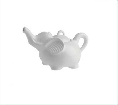 La Porcellana Bianca White Ceramic Elephant Sugar Bowl • 10.86£