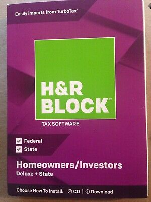 h r block tax software