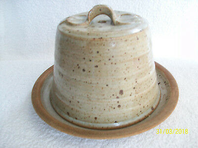 Cheese Dish. Cheese Bell. PORTEADOG Wales. Studio Pottery.Cover Only.GLW. • 12.50£