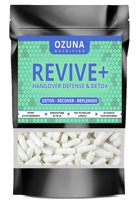 £11.75 • Buy Liver Support Alcohol Recovery Hang Over Prevention Capsules Strong Detox Pills