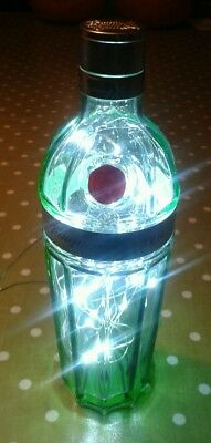 Upcycled Tanqueray No. 10 Bottle With Battery Powered Led Lights Inside • 7£