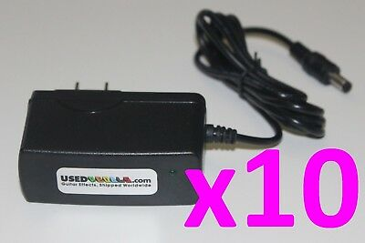 $ CDN86.47 • Buy Lot Of 10 USEDPEDALS 9v 500mA Power Supply Adapter For Guitar Effects FX Pedals