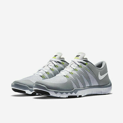 bc22d78a9086 Nike Mens Shoes Size 10 Free Trainer 5.0 V6 White Running 719922-100 • 59.99