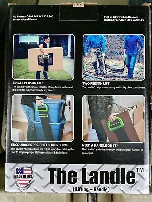 AU26.61 • Buy New The Landle Adjustable Moving & Lifting Straps Furniture Boxes Bulky Items