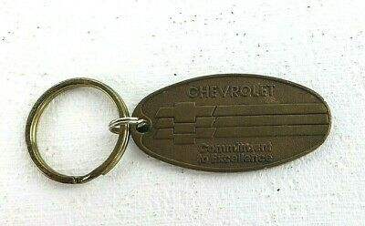 $8 • Buy Chevrolet Key Ring Oval Brassy Commitment To Excellence