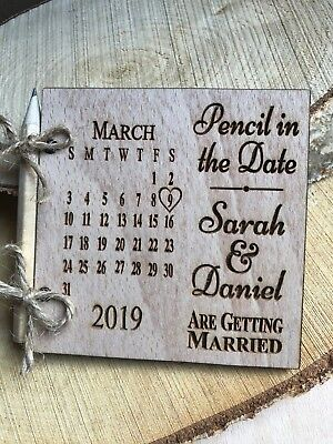 AU107.99 • Buy Save The Date Fridge Magnets