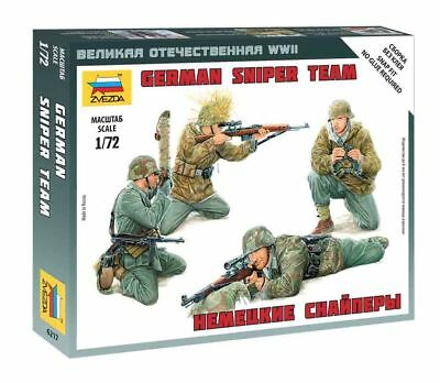 Zvezda 1/72 Figures - German Sniper Team Z6217 • 4.95£
