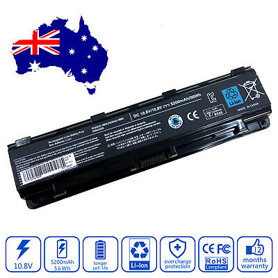 AU49.59 • Buy Battery For Toshiba Satellite C850-1KX C850-1KZ C850-1LD C850-1LE Laptop 5200mAh
