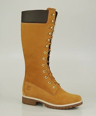 2d8823e6 Timberland 14 Inch Premium Boots Waterproof Mujer Invierno Botas Wheat  3752R • 150.05€