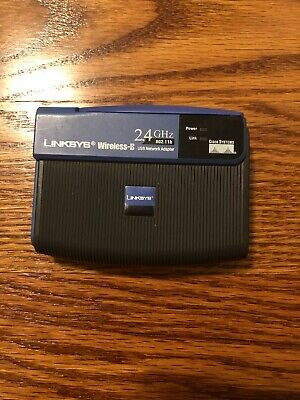 $4.50 • Buy Linksys WUSB11v4 (M4140DC12480) Wireless Adapter