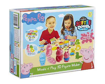 Peppa Pig Dough Mould And Play 3D Figure Maker Multi-Colour • 20.82£