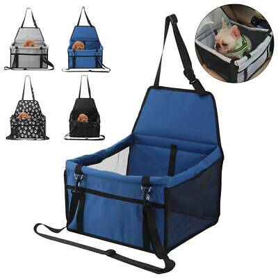 Portable Car Seat Carrier Cat Dog Pet Puppy Travel Cage Booster Belt Bag • 12.29£