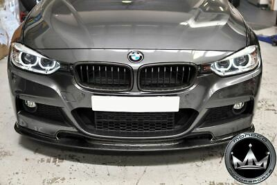 AU917.55 • Buy BMW 3 Series F30 Carbon Fiber Varis Style Front Lip