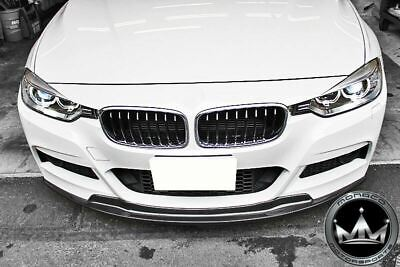AU904.44 • Buy BMW F30 3 Series Carbon Fiber Arkym Style Front Lip