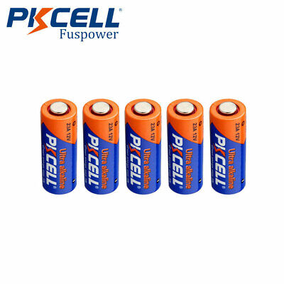 $ CDN7.99 • Buy 5x 23A 23AE A23BP 23GA 21/23 VR22A MN21 12V Alkaline Dry Battery PKCELL