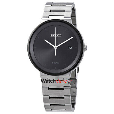 $ CDN190.99 • Buy Seiko Essentials Black Dial Stainless Steel Men's Watch SNE479