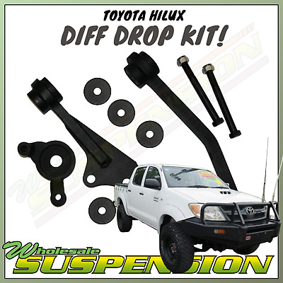 AU355.50 • Buy Front Direct Bolt In BIG Lift Diff Drop Kit 2  - 4  Lift Toyota Hilux N70 KUN26