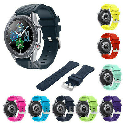 AU1 • Buy For Samsung Galaxy Watch 3 S3 46mm Sport Silicon Replacement Bracelet Strap Band