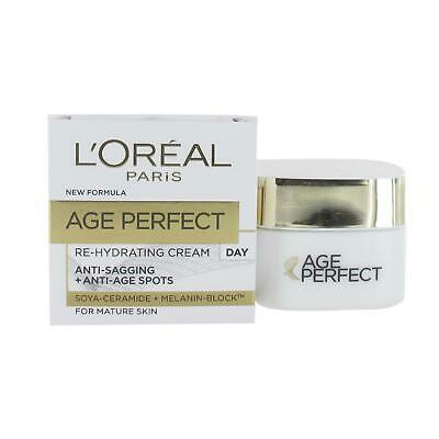 L'Oreal Age Perfect Re-Hydrating Day Cream 50ml For Mature Skin • 5.83£