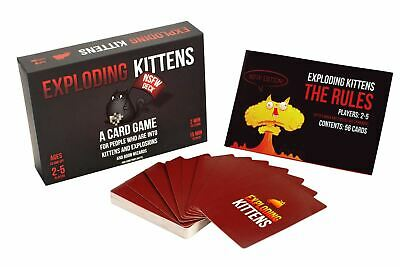 AU41.80 • Buy Exploding Kittens Card Game NSFW Edition Adult UK Seller