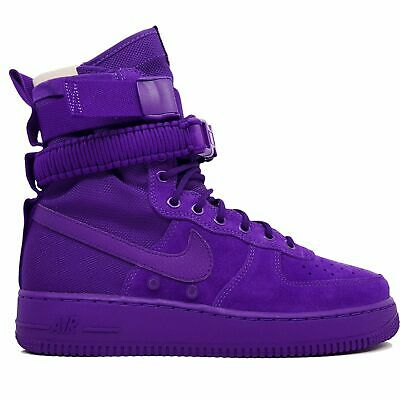 cheap for discount fa844 fa5dd NIKE SF AF1 Special Air Force 1 One High Boot Court Purple 864024-500 Sz