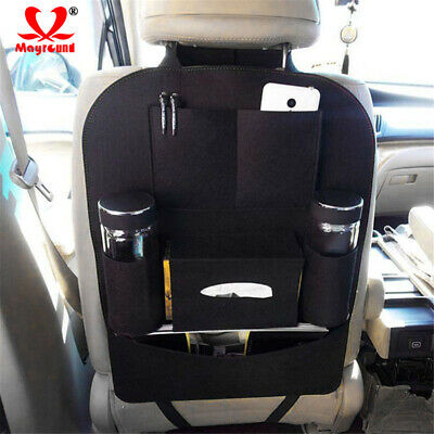 $4.94 • Buy Car Seat Back Bag Organizer Storage Phone Holder Multi-Pocket Accessories Bag