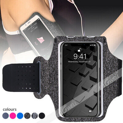 Slim Sport Running Jogging Gym Arm Band Bag Case Pouch Holder For CELL PHONE HOT • 4.63£