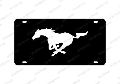 Mustang License Plate Acrylic Any Car Tag GT Permium Ford Mustang  • 19.99$