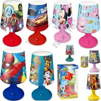 Boys Girls Kids Childrens Toddlers Night Lights Lamp Disney Charactors  • 14.99£