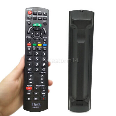 AU19.50 • Buy New N2QAYB000352 Replaced Remote Sub N2QAYB000496 For Panasonic TV RM-D920+ OZ