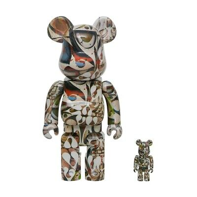 $230 • Buy Medicom BE@RBRICK Phil Frost 100% 400% Bearbrick Figure Set