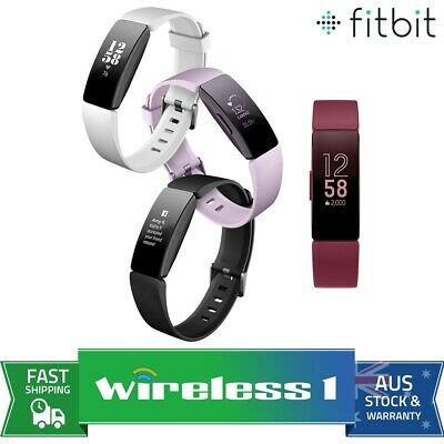 AU129 • Buy 2019 Fitbit Inspire & Inspire HR Fitness Trackers - Multiple Colours