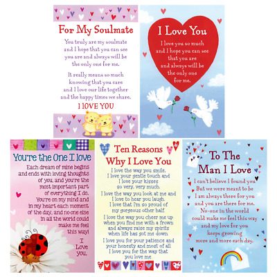 💕LOVE WALLET CARD Heartwarmers Keepsake Sentimental Inspirational Verse Gift💕 • 2.59£