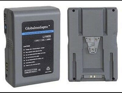 AU895 • Buy Globalmediapro Li160S V-Mount Li-ion Battery's 158Wh Price For Two Battery