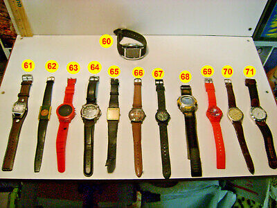 $6.95 • Buy Men's Watches Group J (your Choice)