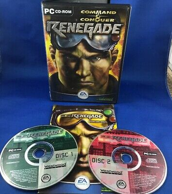 AU14.95 • Buy Command And Conquer RENEGADE (PC DVD-ROM 2 DISC, 2002) Westwood Studios