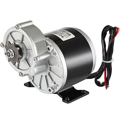 350W DC Electric Motor 24V 3000RPM Gear Ratio 9.7:1 Permanent Scooter Go-kart • 39.97£
