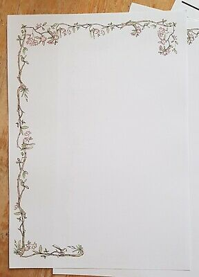 £3.75 • Buy   Garden Tree Branches     Letter Writing Paper Set With Matching Envelopes 10+5