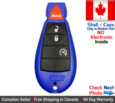 $ CDN15.95 • Buy 1. New Blue Replacement Keyless Remote Key Fob Case For Dodge Caravan RAM Shell