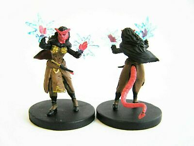 $ CDN17.53 • Buy Tiefling Warlock - Monster Menagerie II - Miniature - D&D  - 35/44 Rare