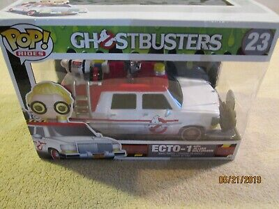 Funko Pop! Rides: Ghostbusters 2016 - Ecto-1 [New Toy] Vinyl Figure • 25.01£